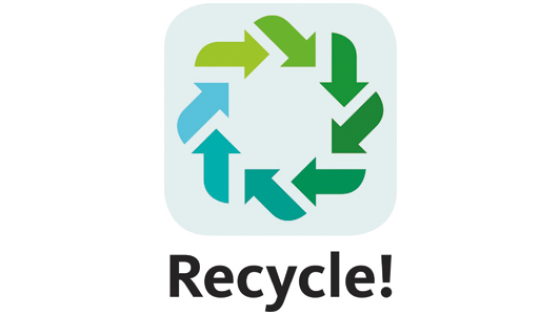 logo van de recycle app
